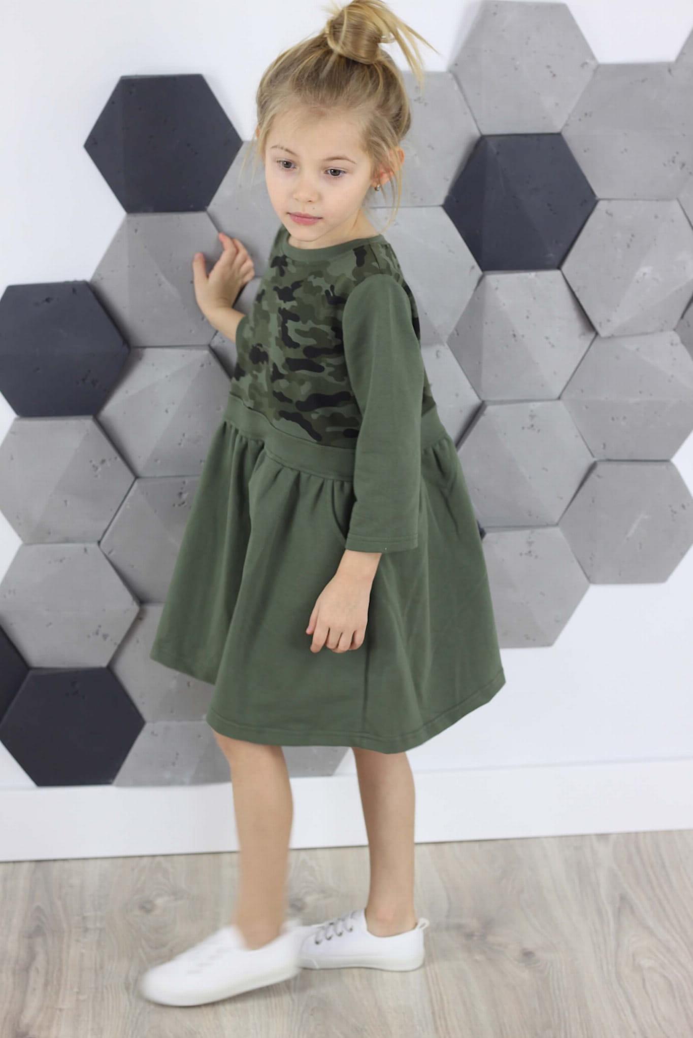 80ccaaf932 Sukienka z KIESZENIAMI moro-khaki S101. IMG 5717.JPG